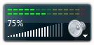 Volume Control Sidebar Gadget